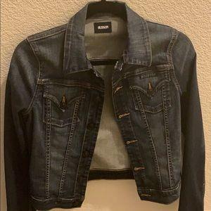 Hudson Fitted Jean jacket denim